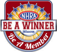 NHRA Be A Winner / Member Logo