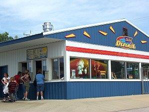 DJ's Diner | Beech Bend Amusement Park - Bowling Green, KY