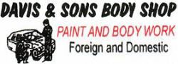 Davis & Sons Body Shop
