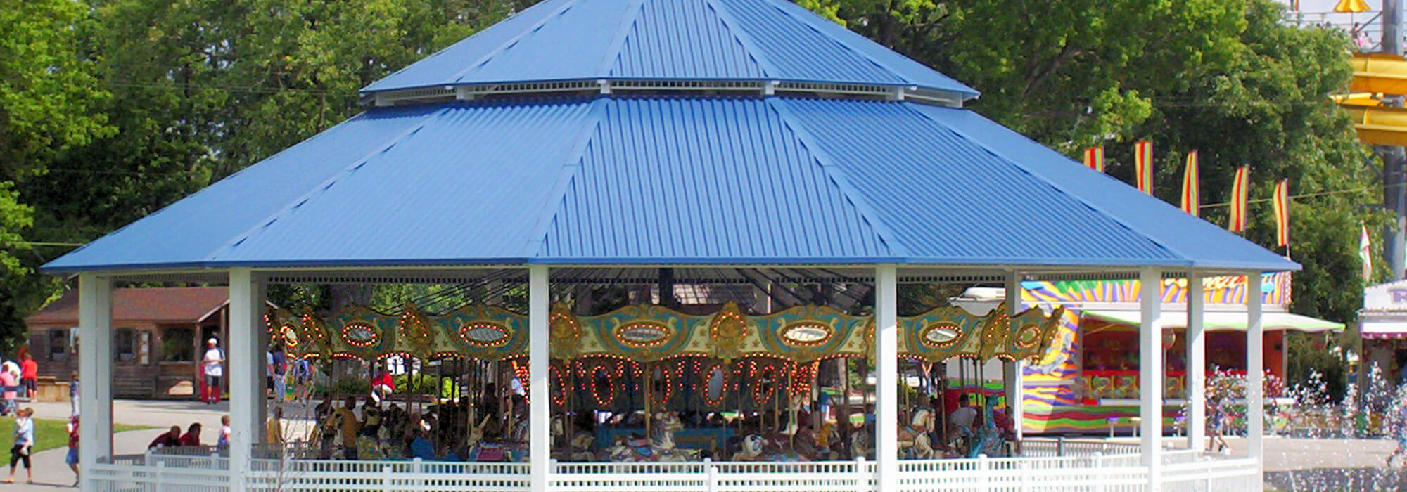 Grand Carousel | Beech Bend Amusement Park - Bowling Green, KY