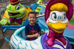 Happy Pond | Beech Bend Amusement Park - Bowling Green, KY