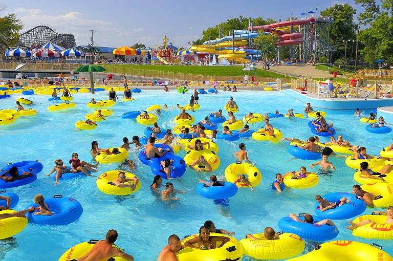 Wave Pool At Splash Lagoon Beech Bend Amut Park Bowling Green Ky
