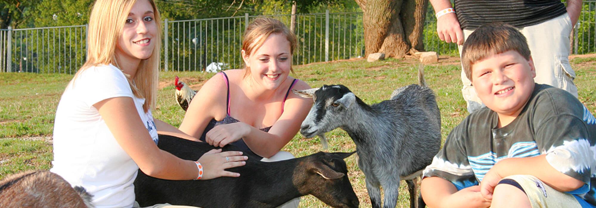 Granny Jones Petting Farm   Beech Bend Amusement Park - Bowling Green, KY