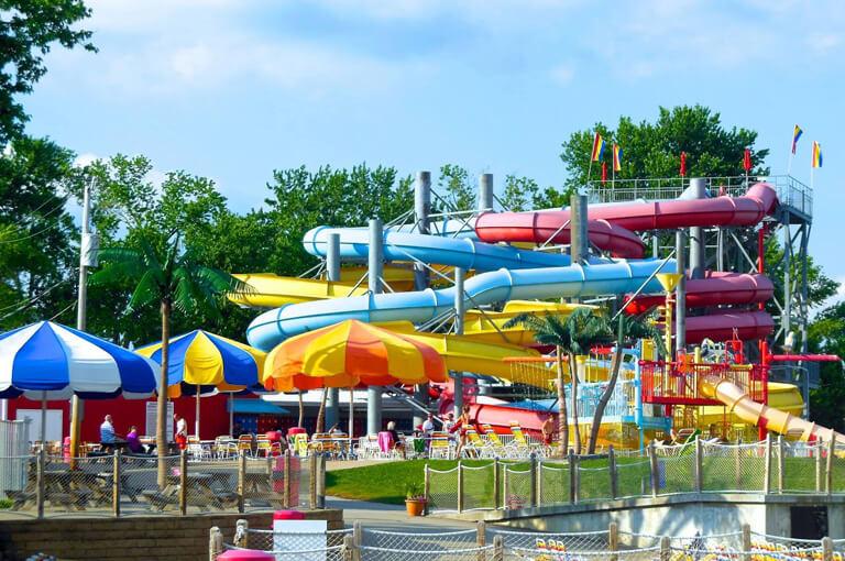 Raging Rapids Slides at Splash Lagoon | Beech Bend Amusement Park - Bowling Green, KY