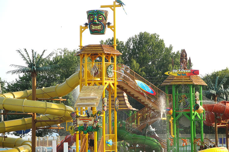 Tiki Island at Splash Lagoon | Beech Bend Amusement Park - Bowling Green, KY