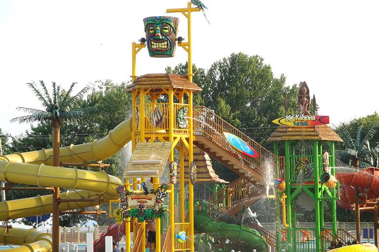 Tiki Island at Splash Lagoon | Beech Bend Amusement Park - Bowling Green, KY