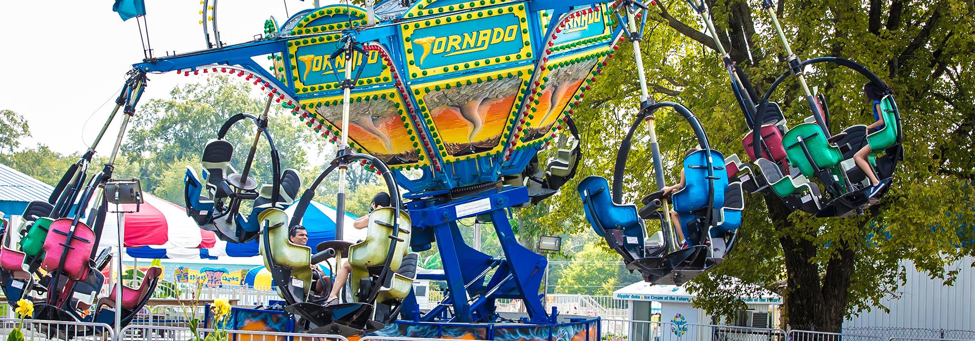 Tornado | Beech Bend Amusement Park - Bowling Green, KY